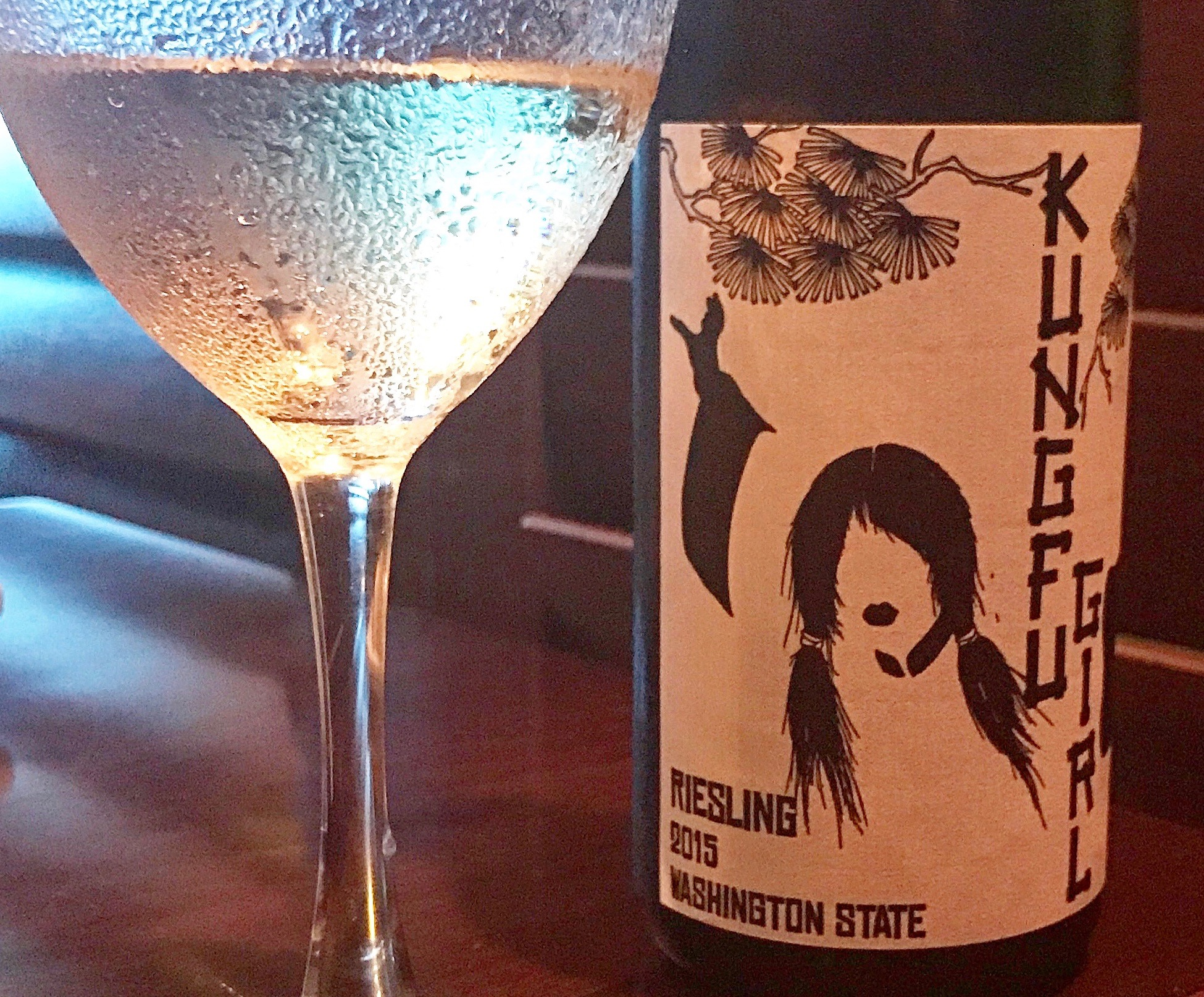 You won't go wrong with this 2015  Kung fu Girl Dry Riesling  by Charles Smith from Washington State. So juicy, refreshing and delicious with big flavors that will stand up to all of your Thanksgiving dishes. And your guests will love the label! ($12)