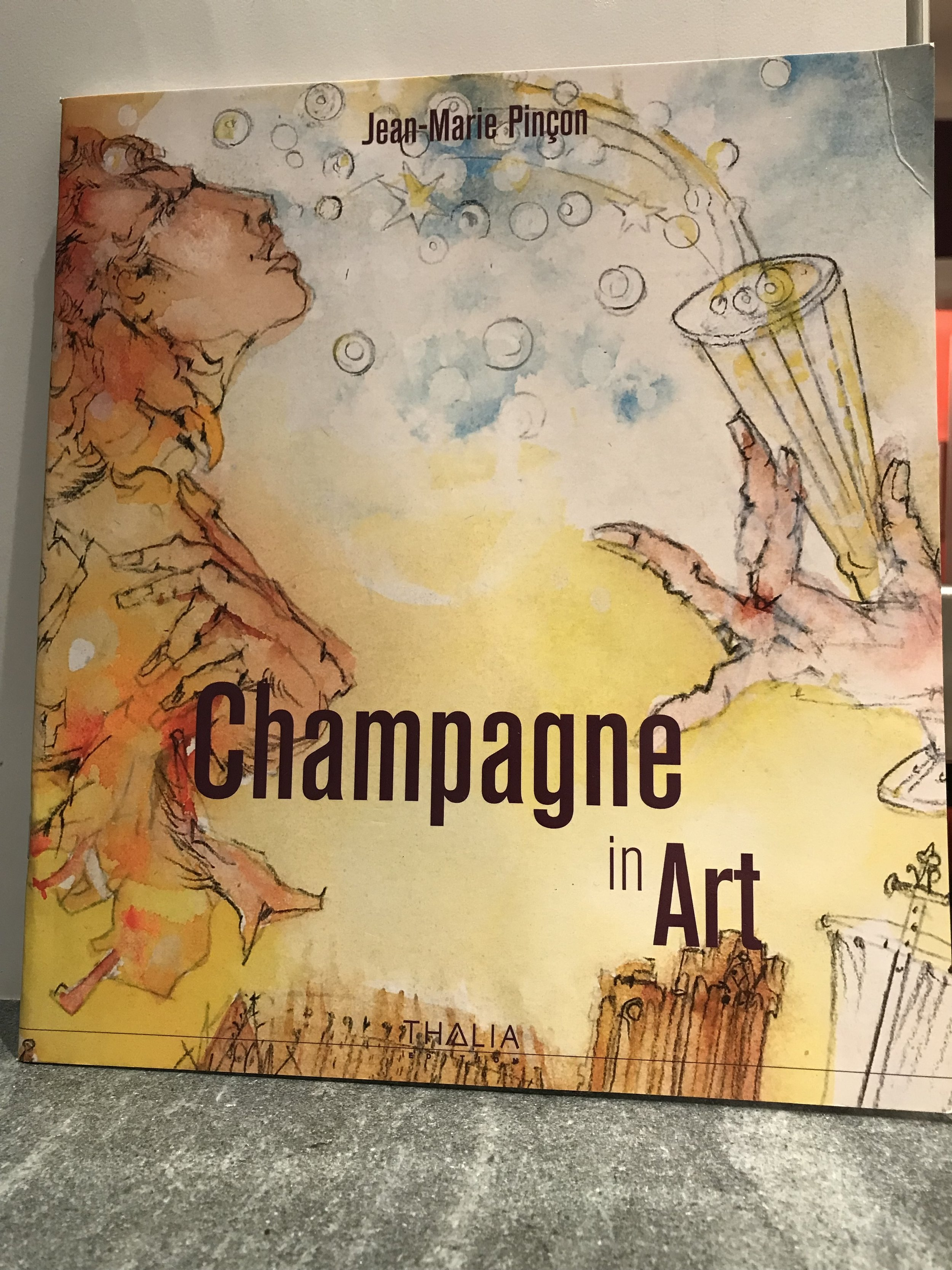 Each year, Bruno comissions an artist to design the labels of his vintage champagne. He gives the artist one or two words which reflect the characteristics of that particular year as inspiration for the art.