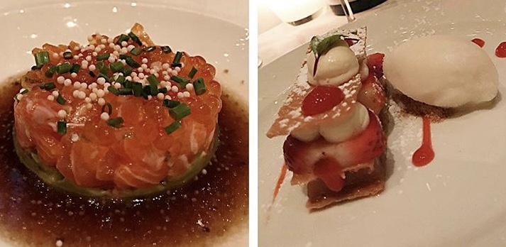 Both savory and sweet hits the spot at Toqueville.