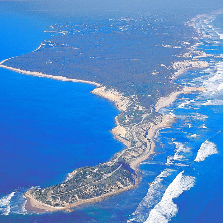 Aerial view of the Mornington Peninsula