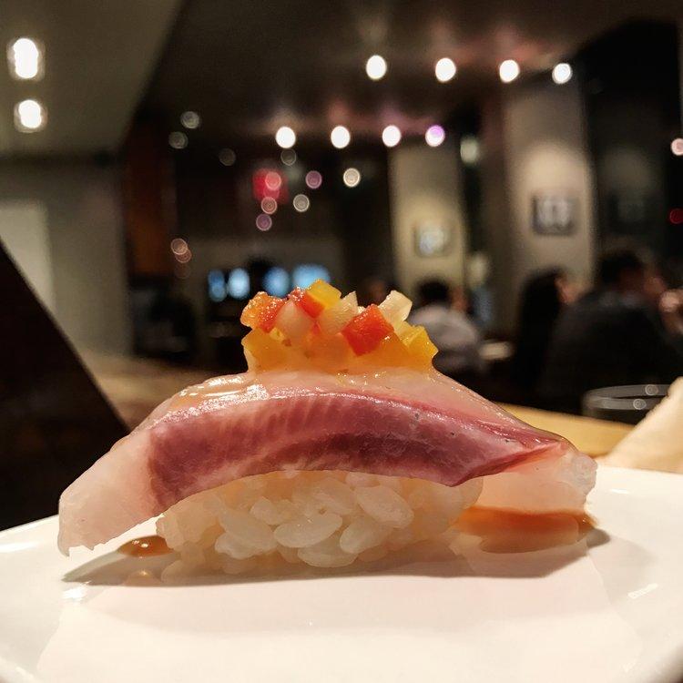 Sublime sushi at Gari's.