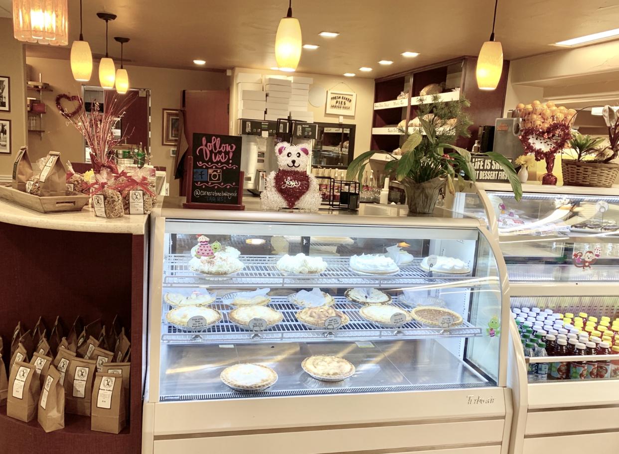 Fresh baked goods at Cornerstone Bakery