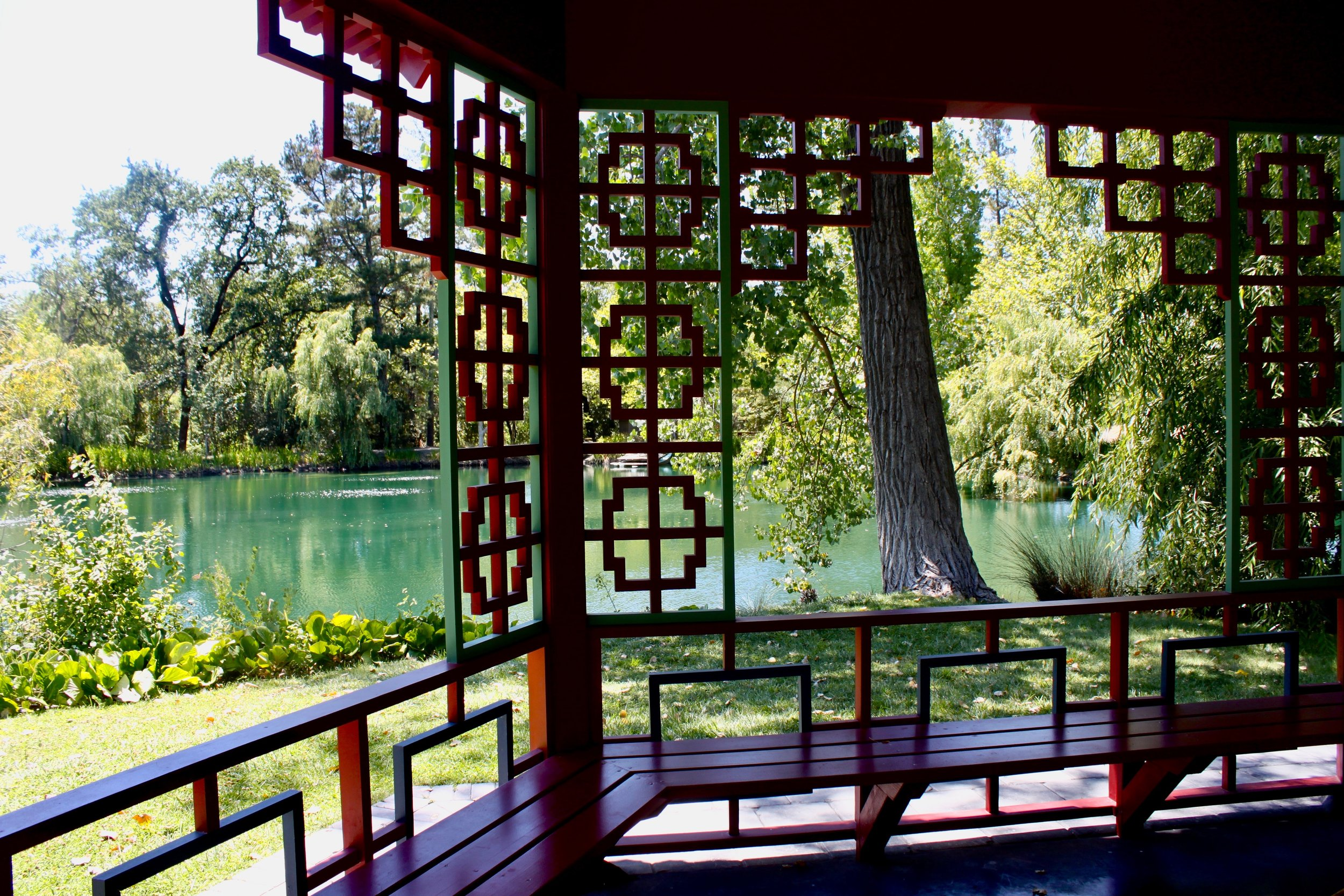 Take a stroll through the serene Chinese gardens at Chateau Montelena.