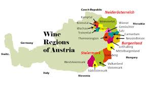 Winemaking in in the eastern part of Austria, while the west is primarily for alpine skiing.   Photo: buywine.com