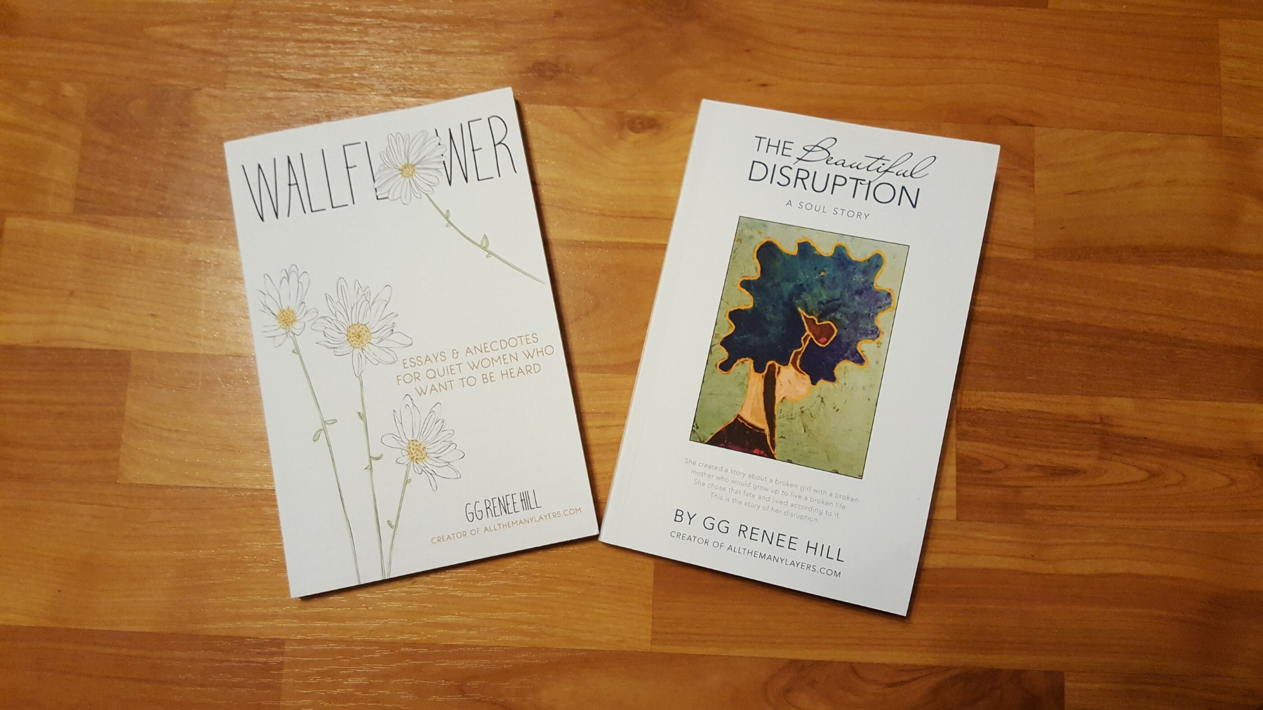 Good writers read. Here are two books by my favorite writing coach, GG Renee Hill of allthemanylayers.com.