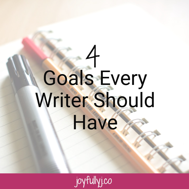 Every writer should develop goals to increase her readership. Here are four goals that you should focus on to build a strong readership.