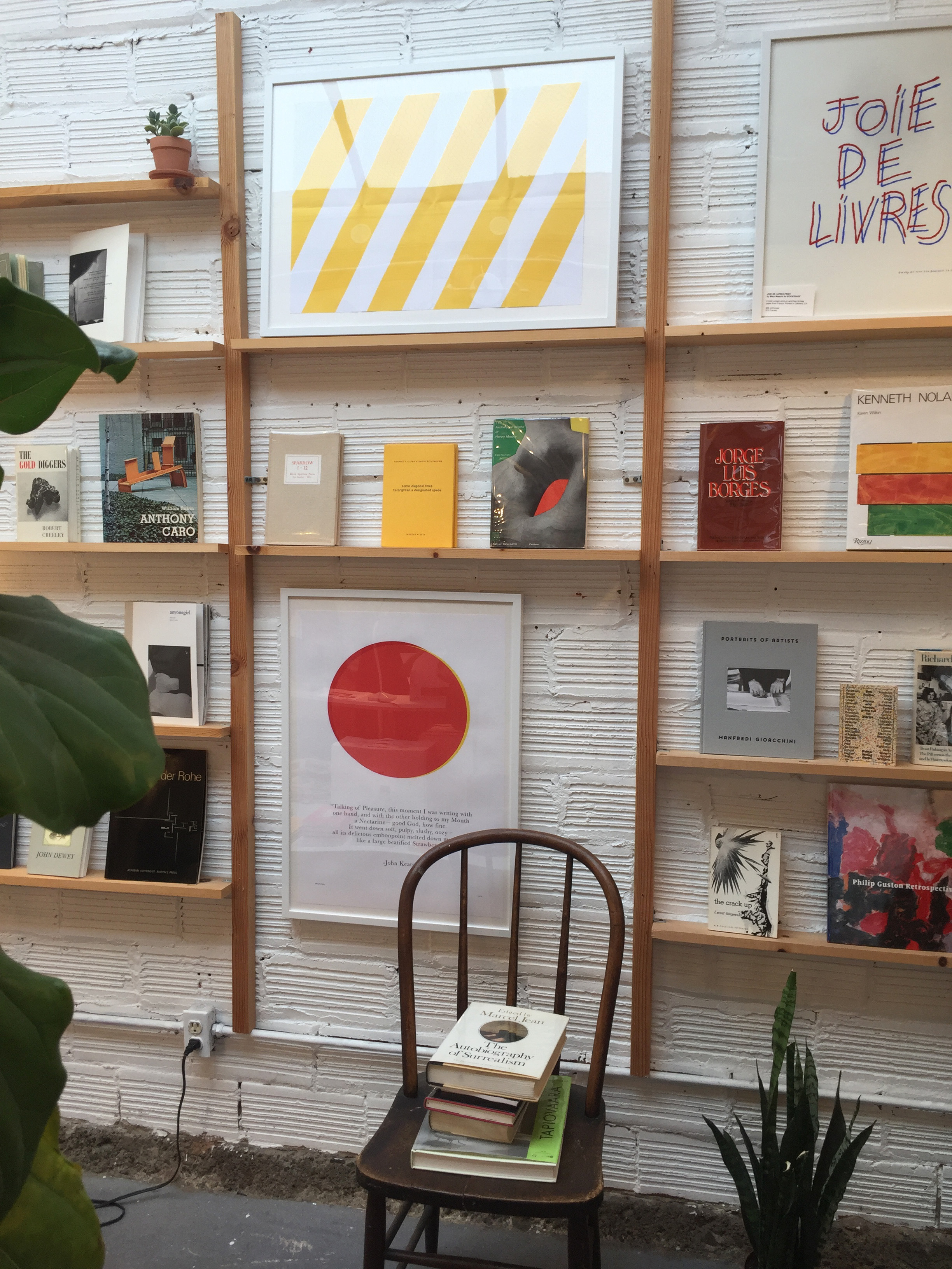 The  book shop of all book stores. A must for book lovers, designers and dreamers.