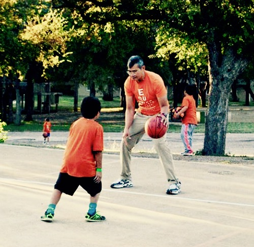 Hoopin' with Coach Julian