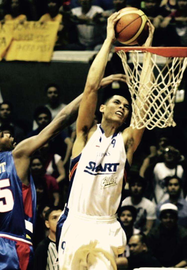 Japheth over Kevin Durant  / Team Philippines Smart Gilas vs. Kobe+NBA stars.