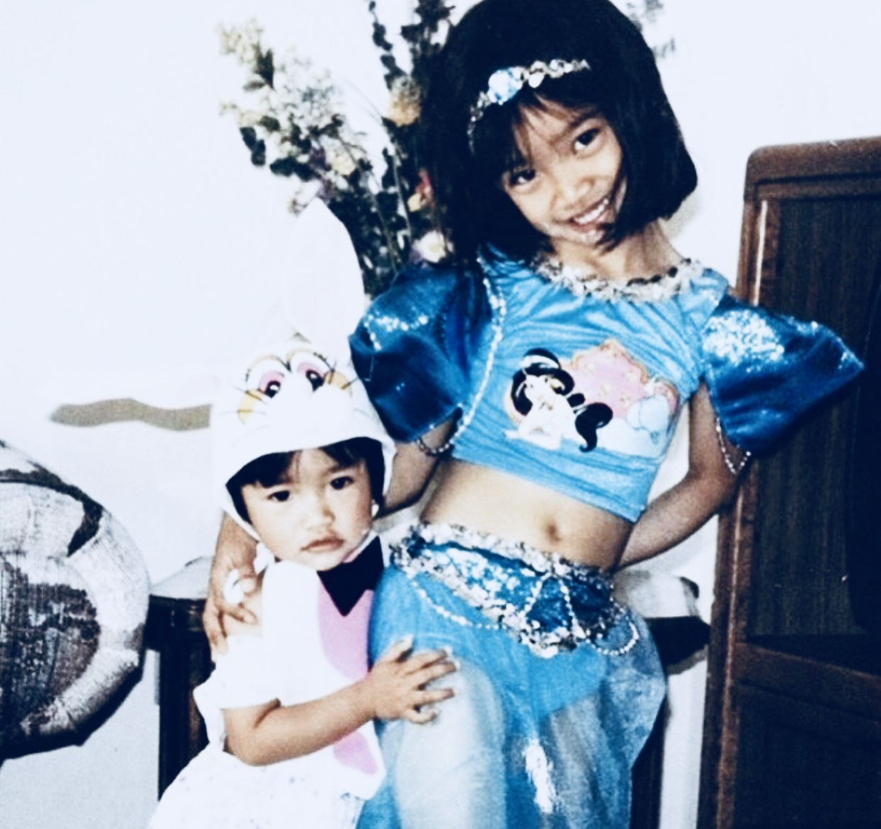 Nika + Bianca  circa 1995