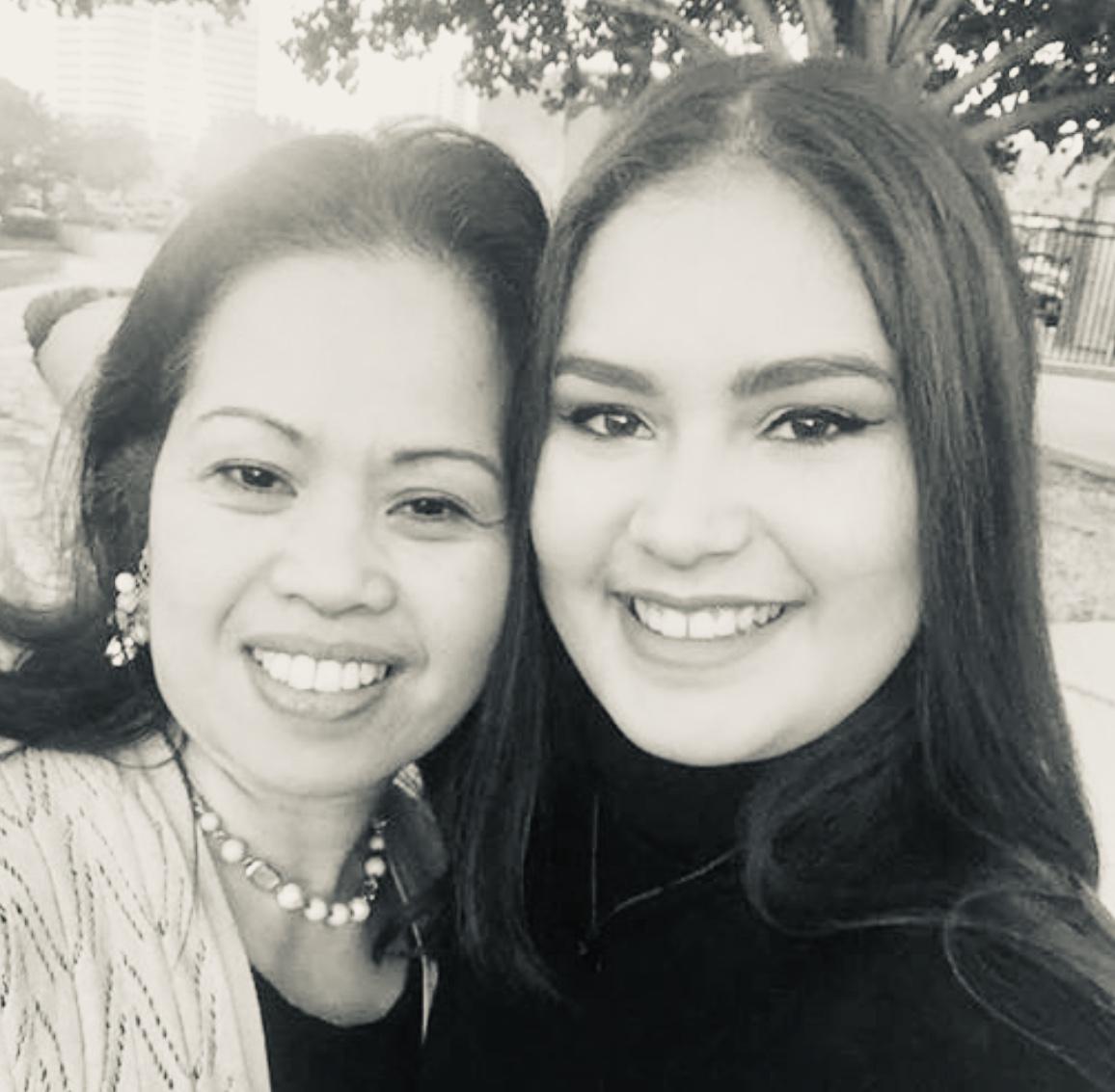 Norie Espaldon Gabuyo  with Princess Lin