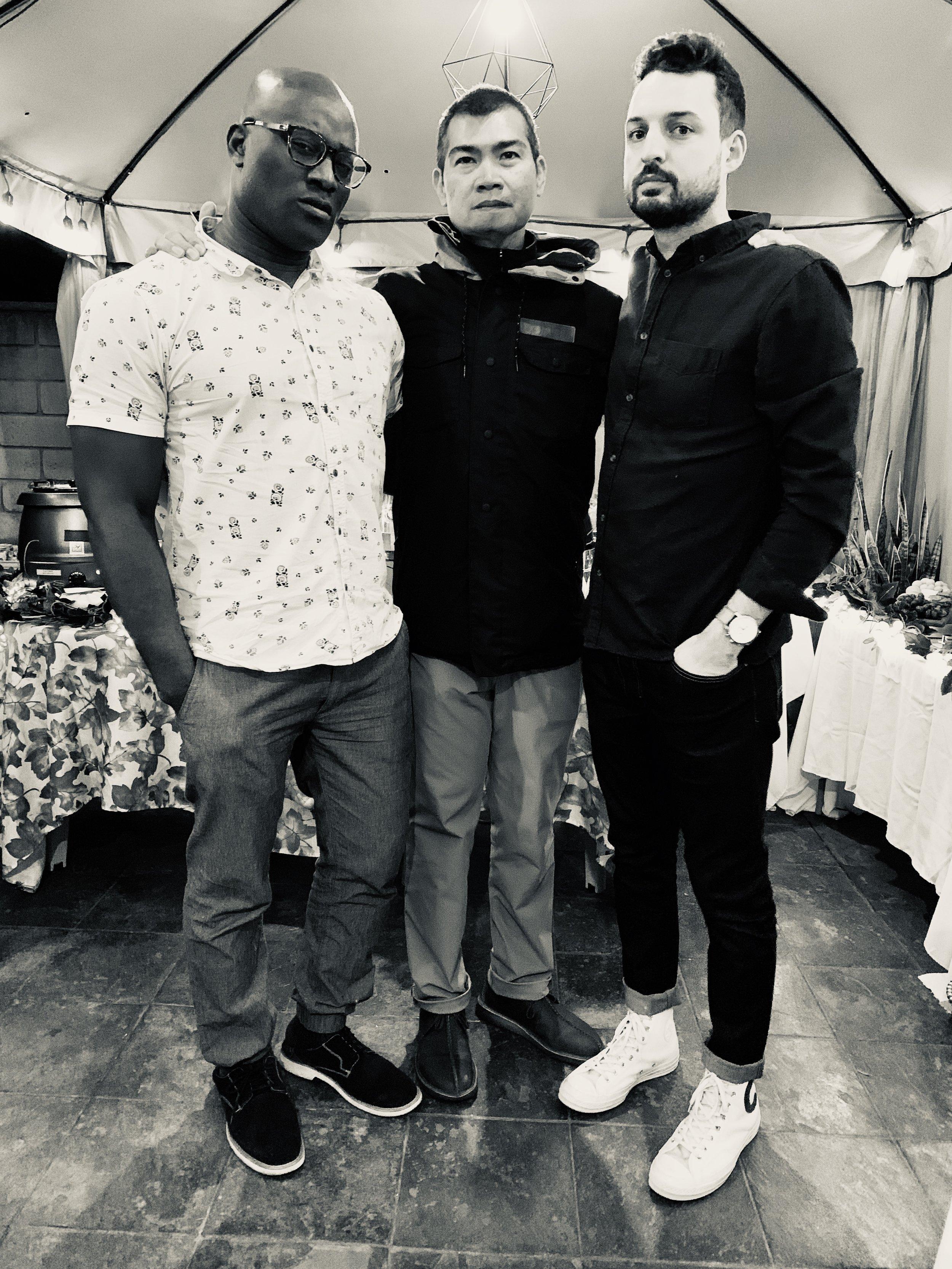 Emeka Ihedigbo + Marcus Tortorici  My undeserved gift of sons.