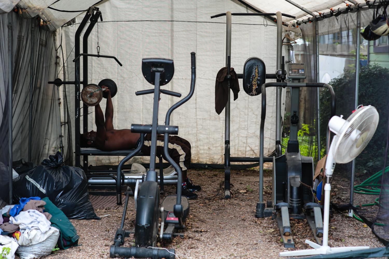 A day at the gym at Casa Marianela.