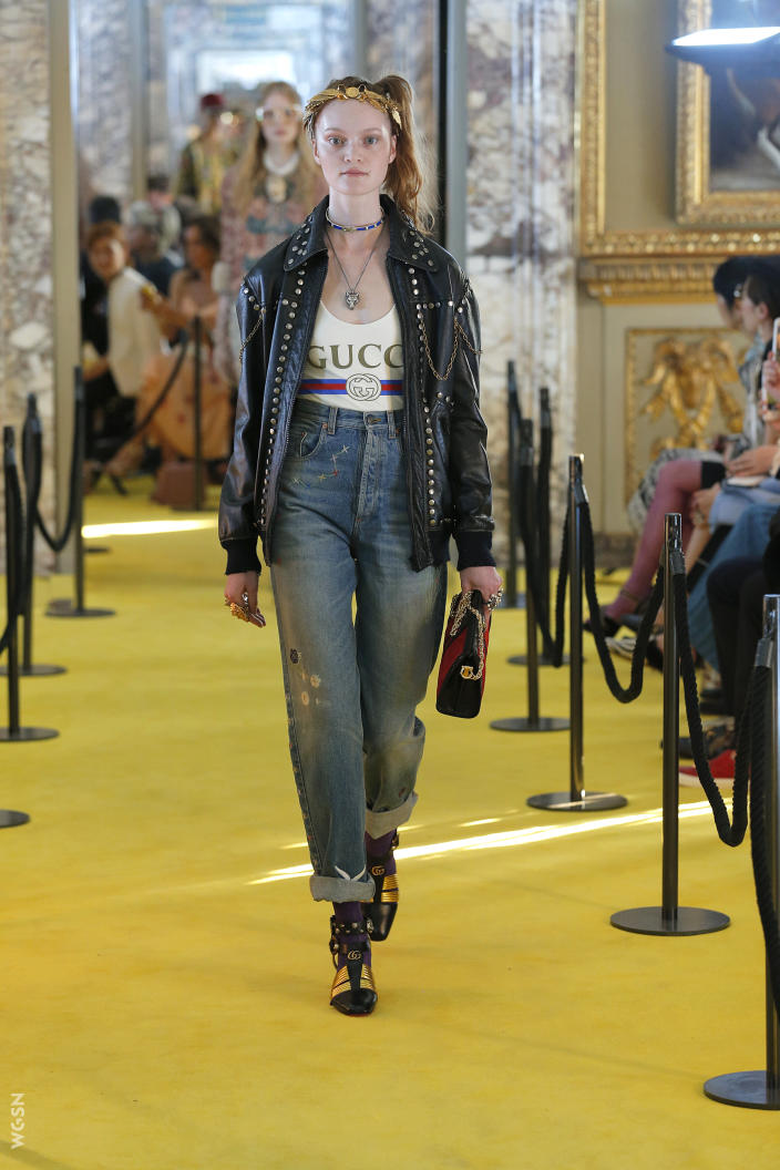 05. VINTAGE HIGH-RISE - Think mom jeans, 70s flares, and vintage washes all in one pant- that's this key trend for S/S 18.