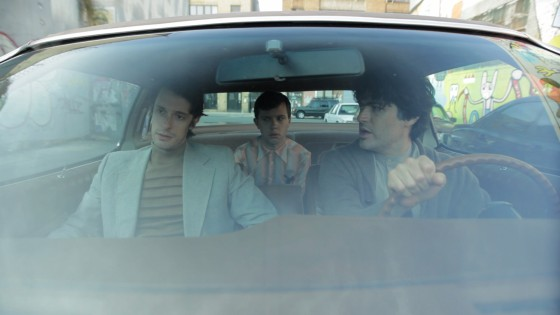 """Will Janowitz, Cole Escola and Michael Cavadias in a scene from """"Junkie Doctors"""" directed by Rob Roth"""