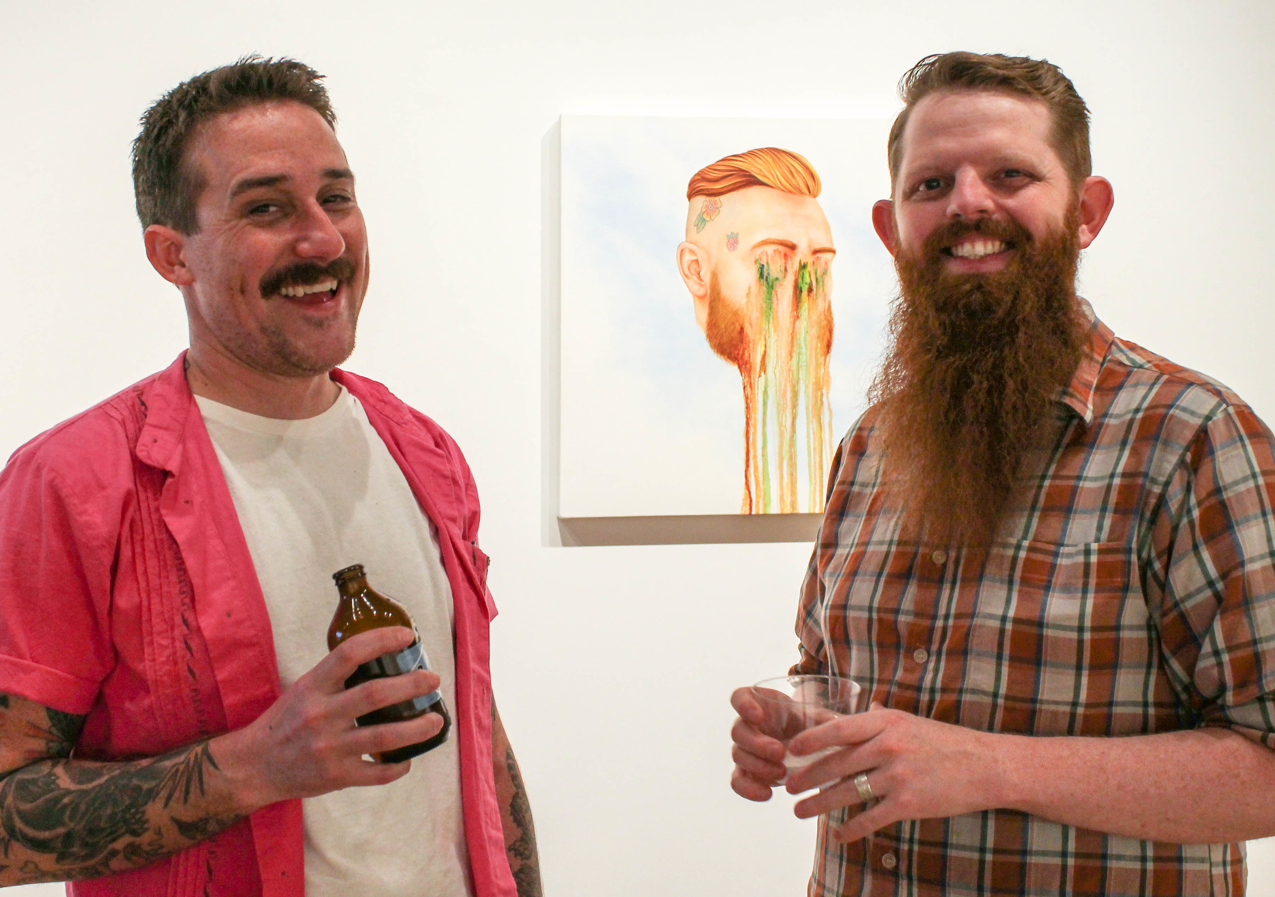 Artists Jeff P. and Neil M. Perry