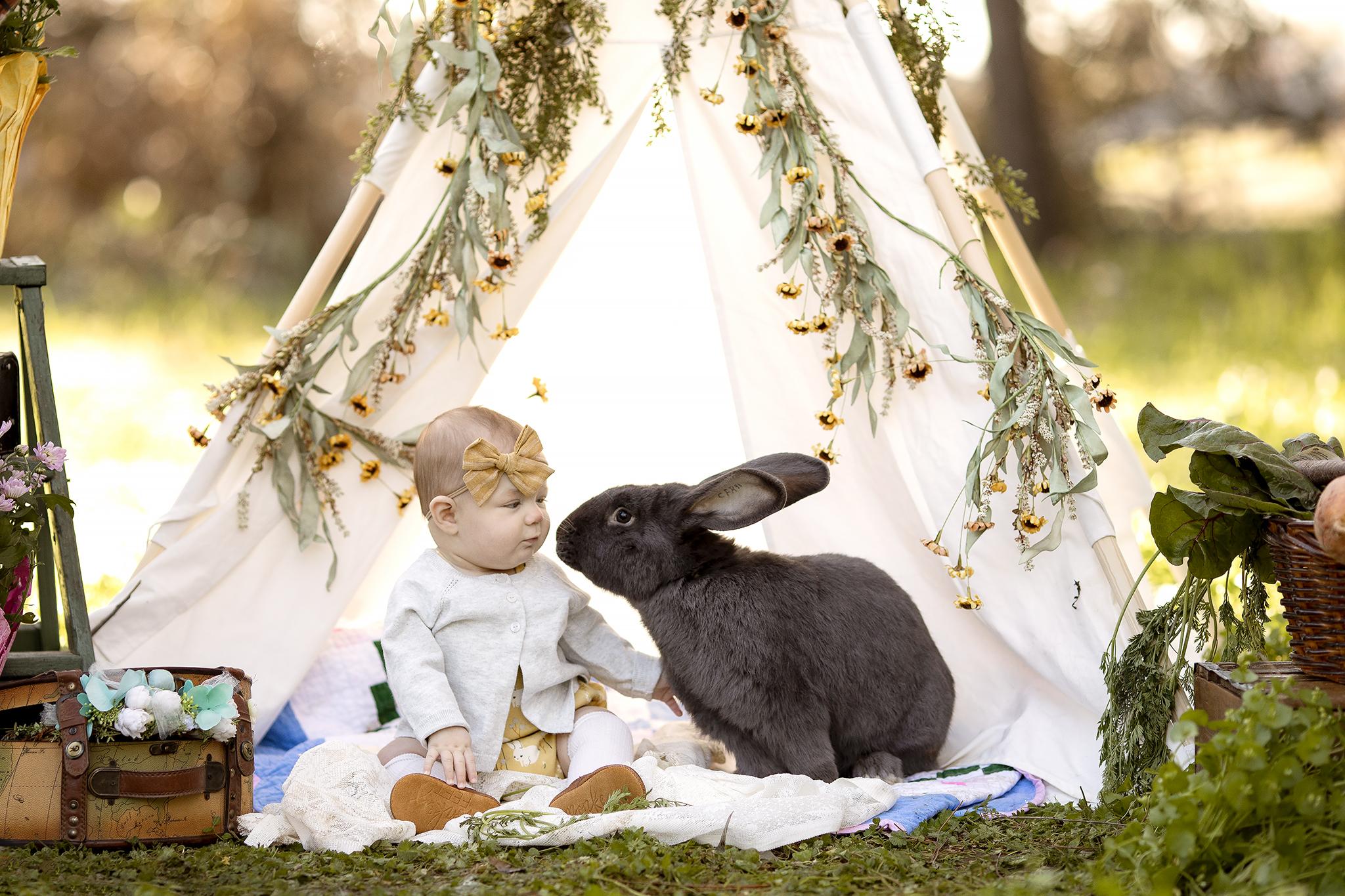 bunny kisses mini session