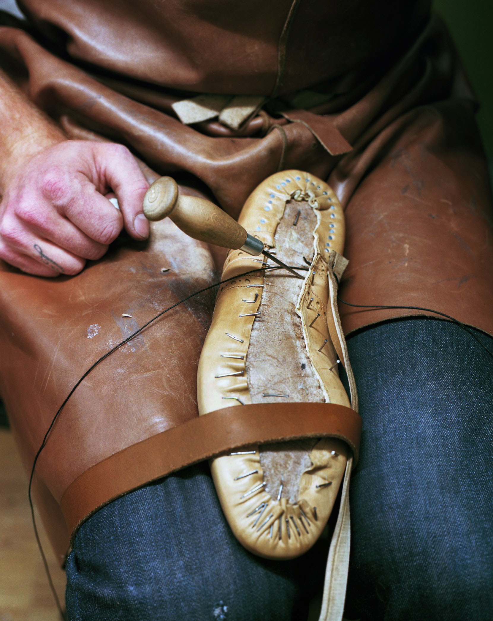 Welting - Handmade shoes