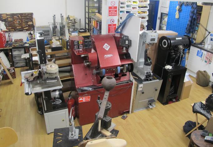 Shoemaking equipment