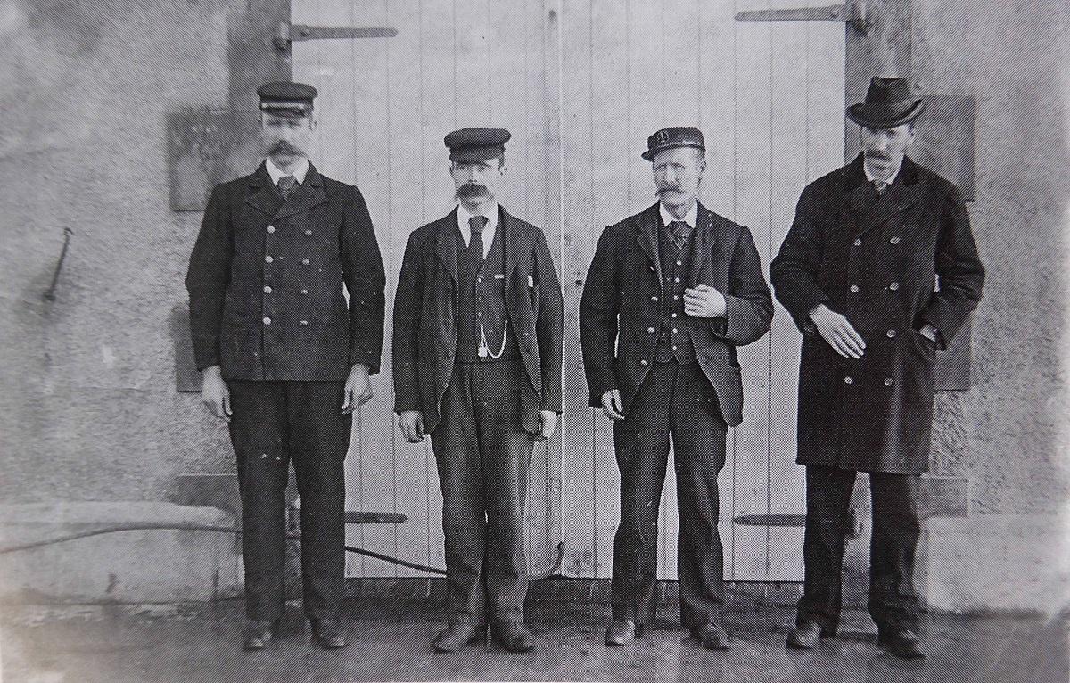 Thomas Marshall, James Ducat and Donald McArthur