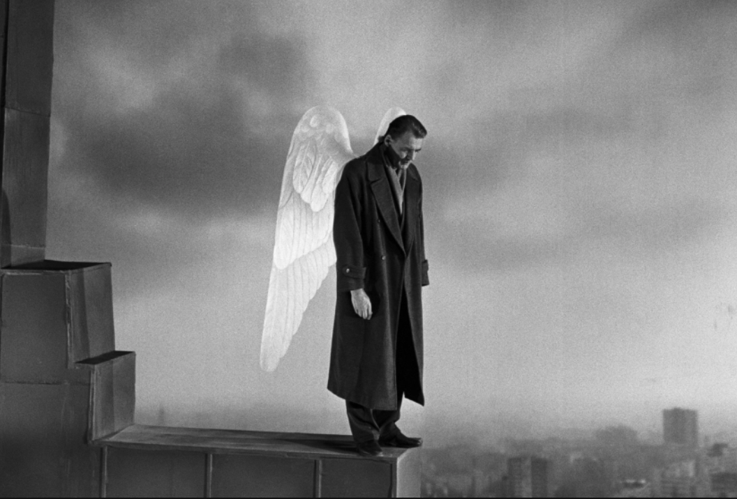 Still from Wings of Desire. Dir. Wim Wenders