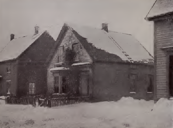 The home of Olive and Dan Teed in Amherst, Nova Scotia c.1878