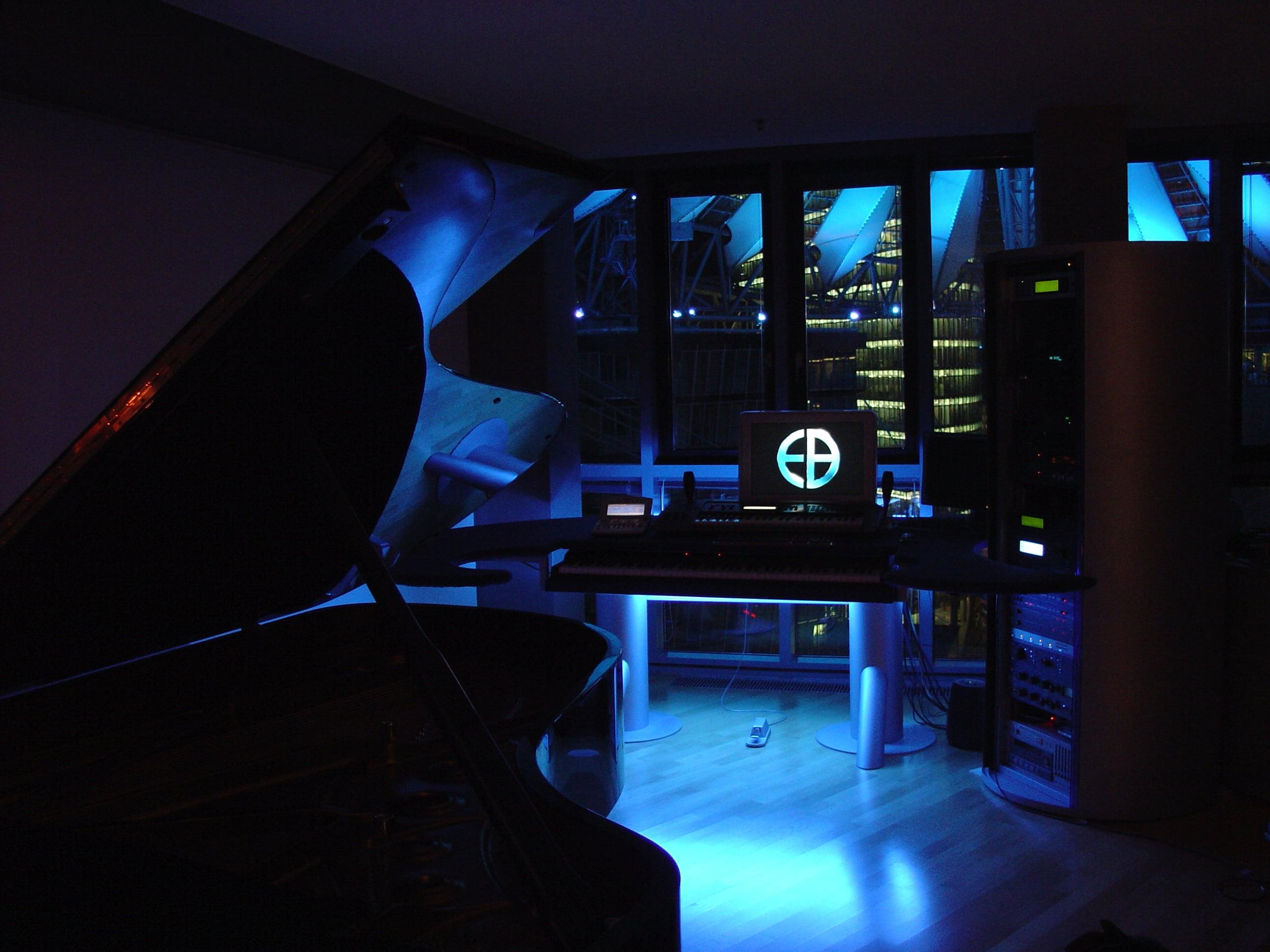 Studio with Steinway