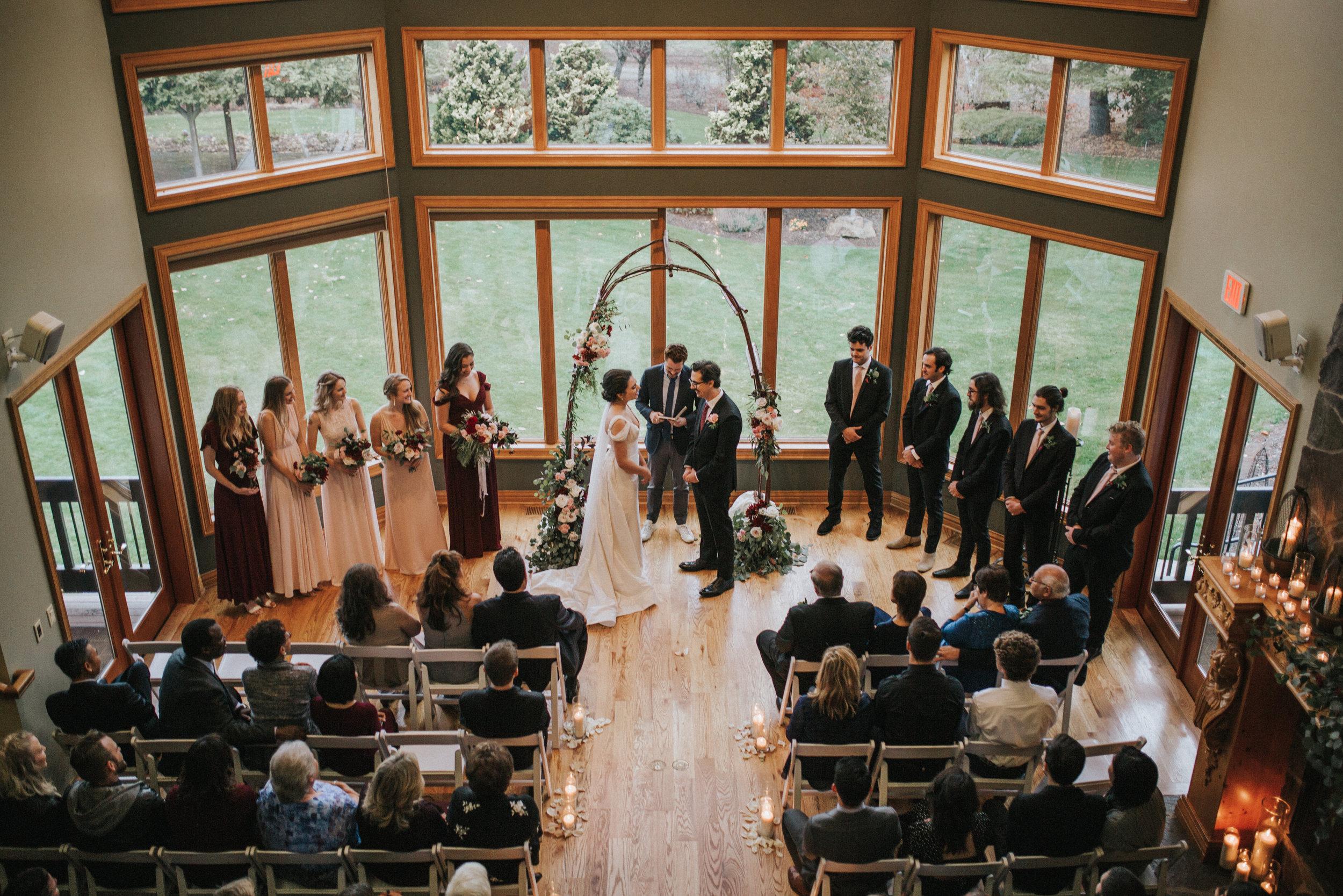Alex + Nat's Wonser Woods Estates Wedding - See More
