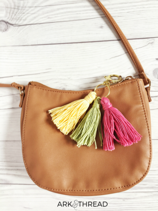 Ark + Thread DIY Tassel key chain