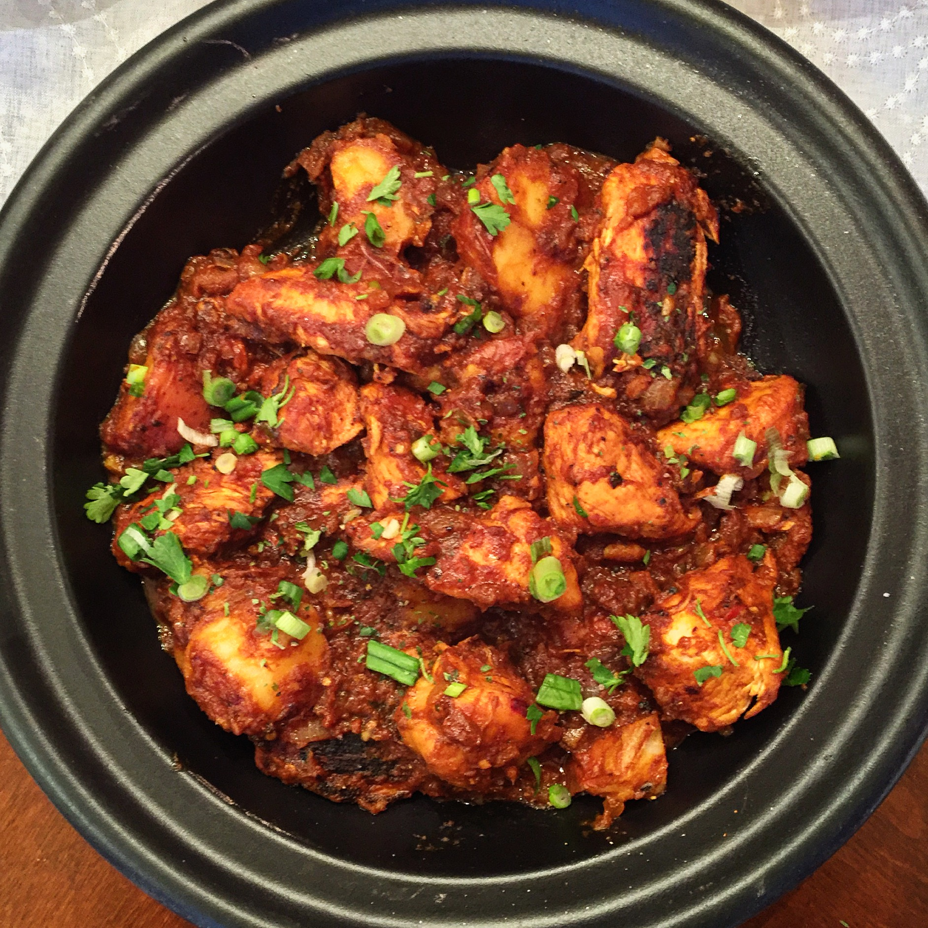 """Delicious Chicken Vindaloo"""