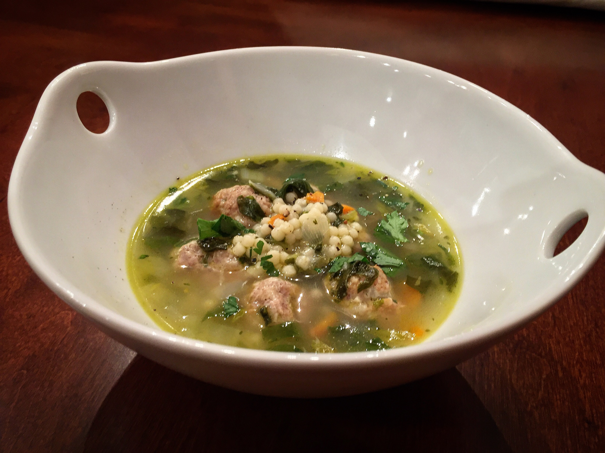 """Italian Wedding Soup"""