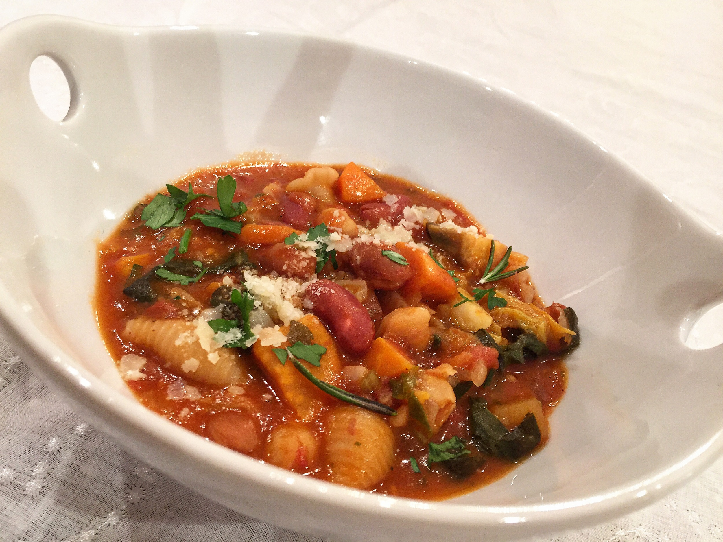 """Minestrone Soup"""