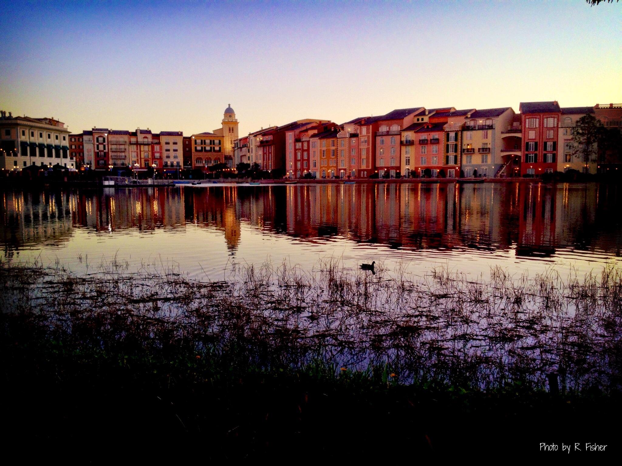 """""""Portofino At Dawn"""""""