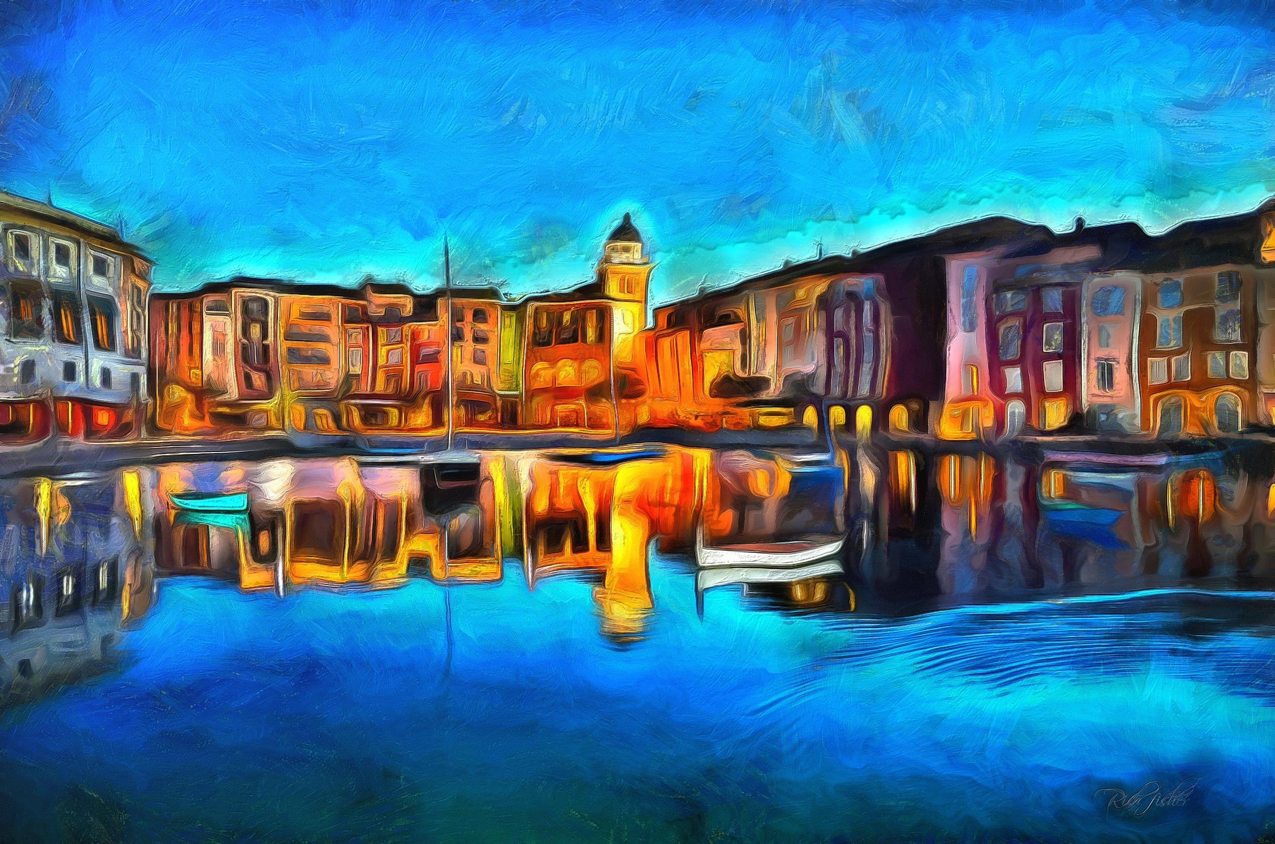 """""""Porto'fino by Night"""""""