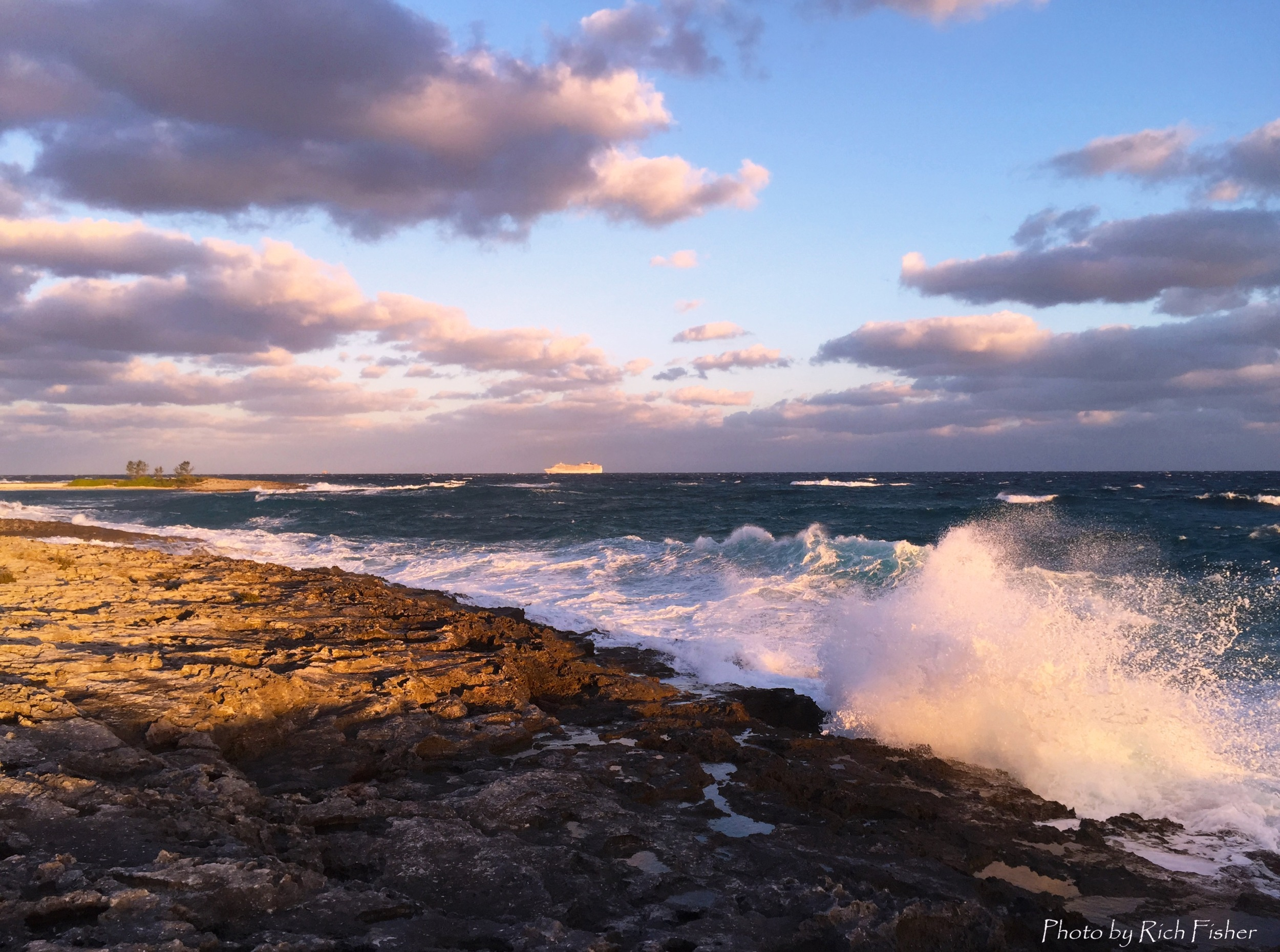 """Waves Breaking Along the Florida Gulf"""