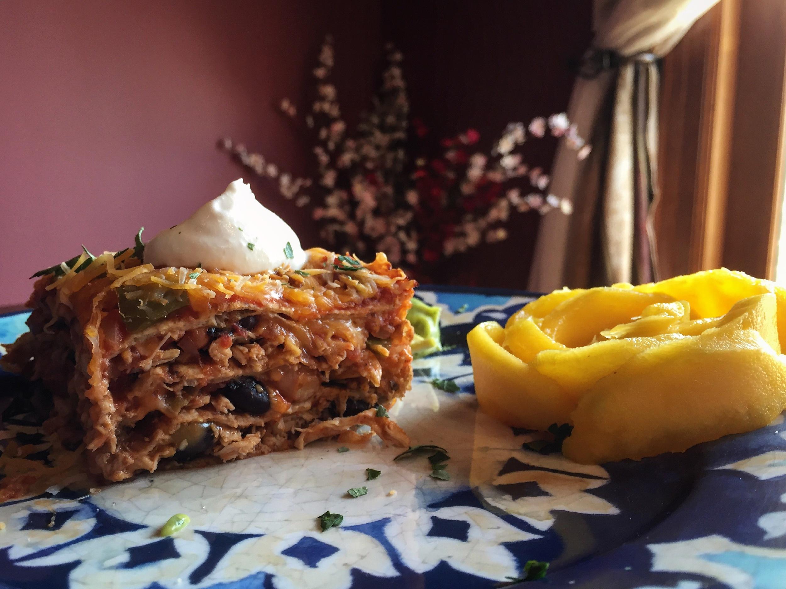 """Mexican Inspired Lasagna"""