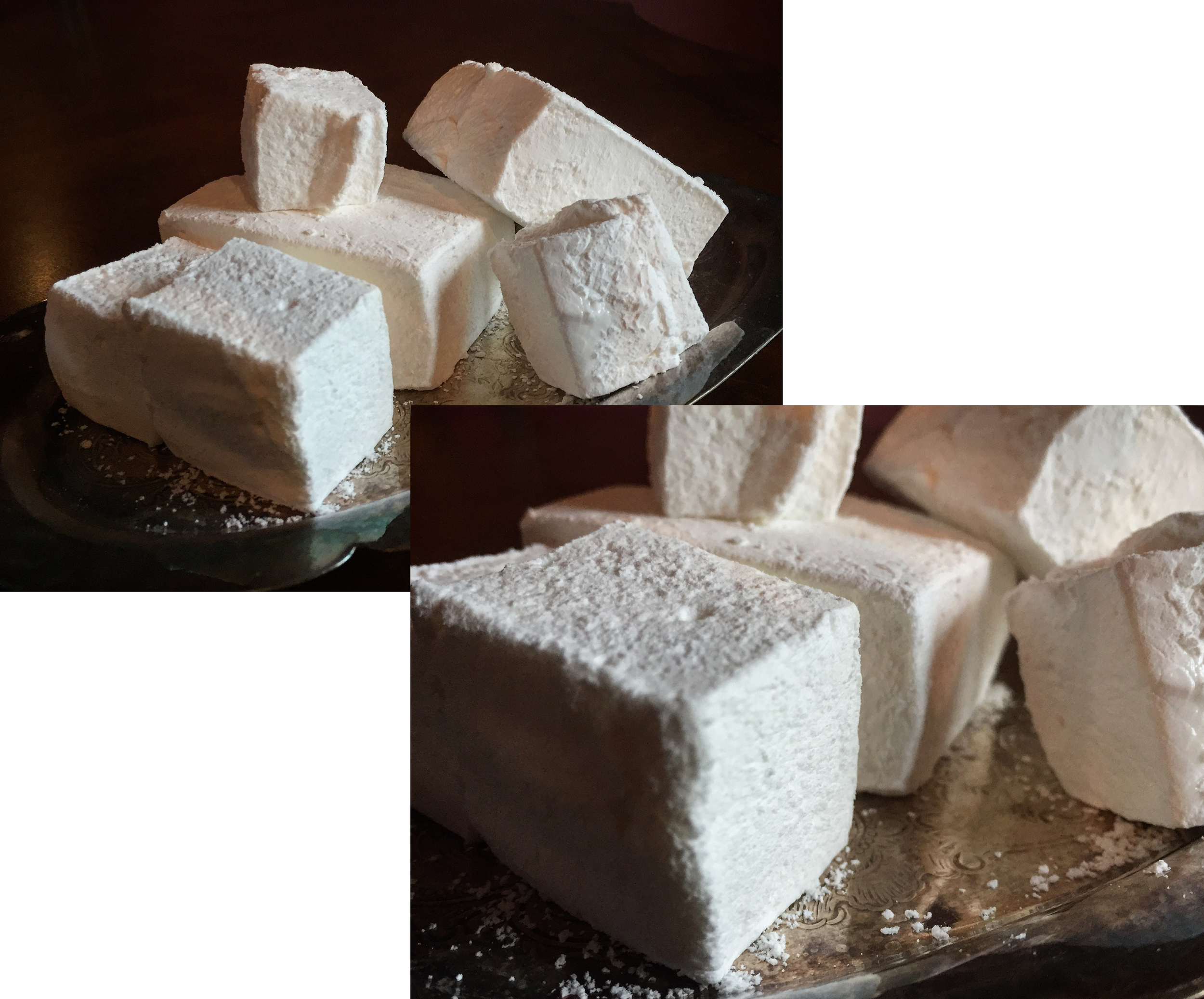 """Fluffy Homemade Marshmallows"""