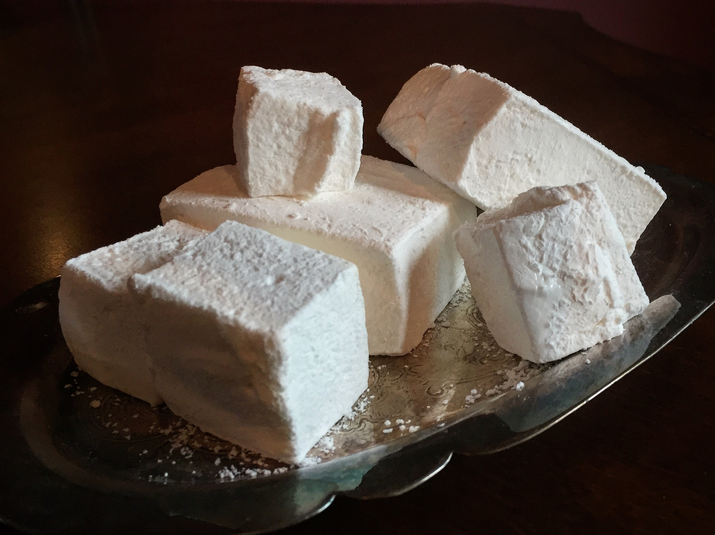 """Love Home-made Marshmallows"""