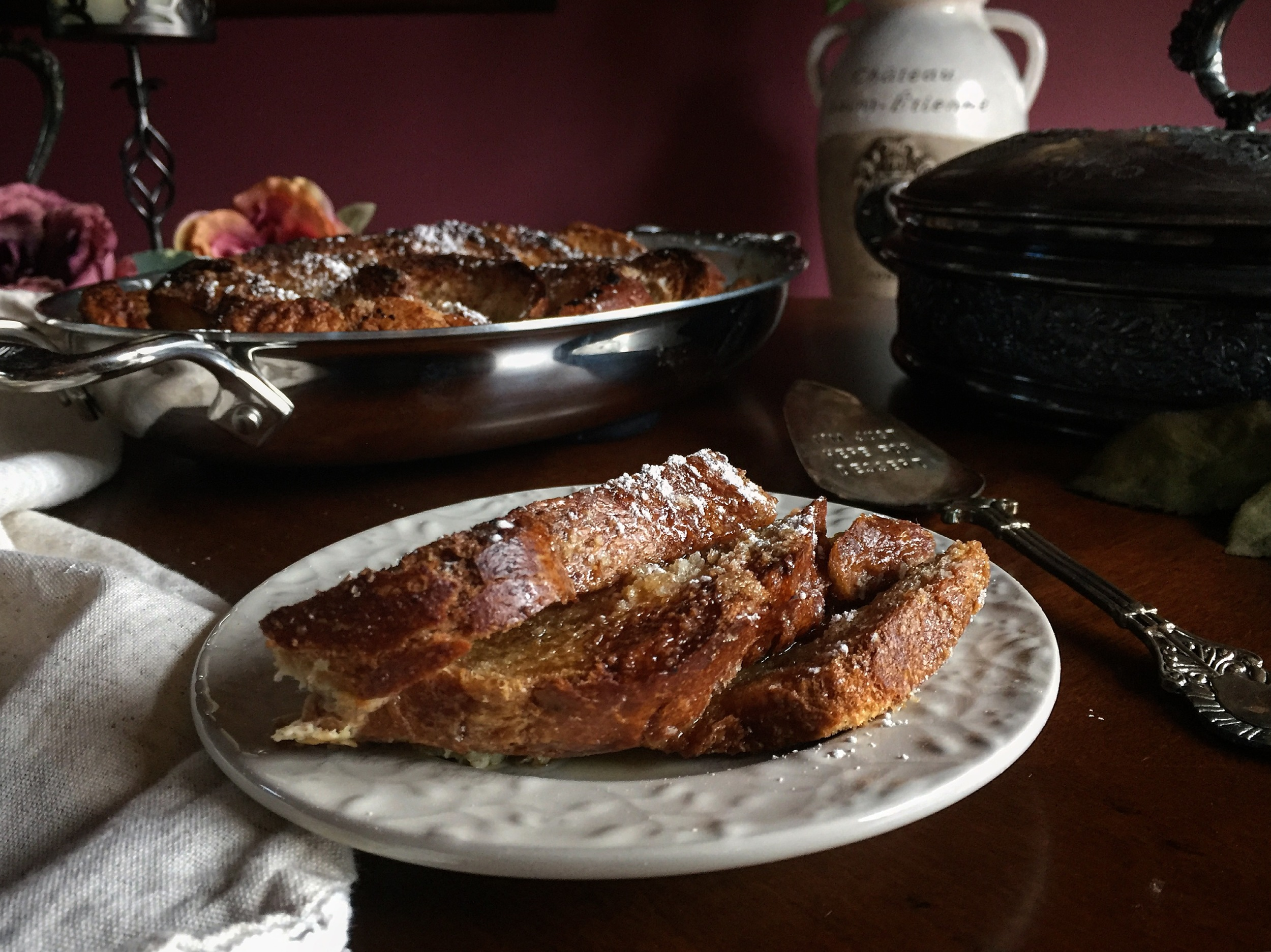 """""""French Toast Bread Pudding"""""""