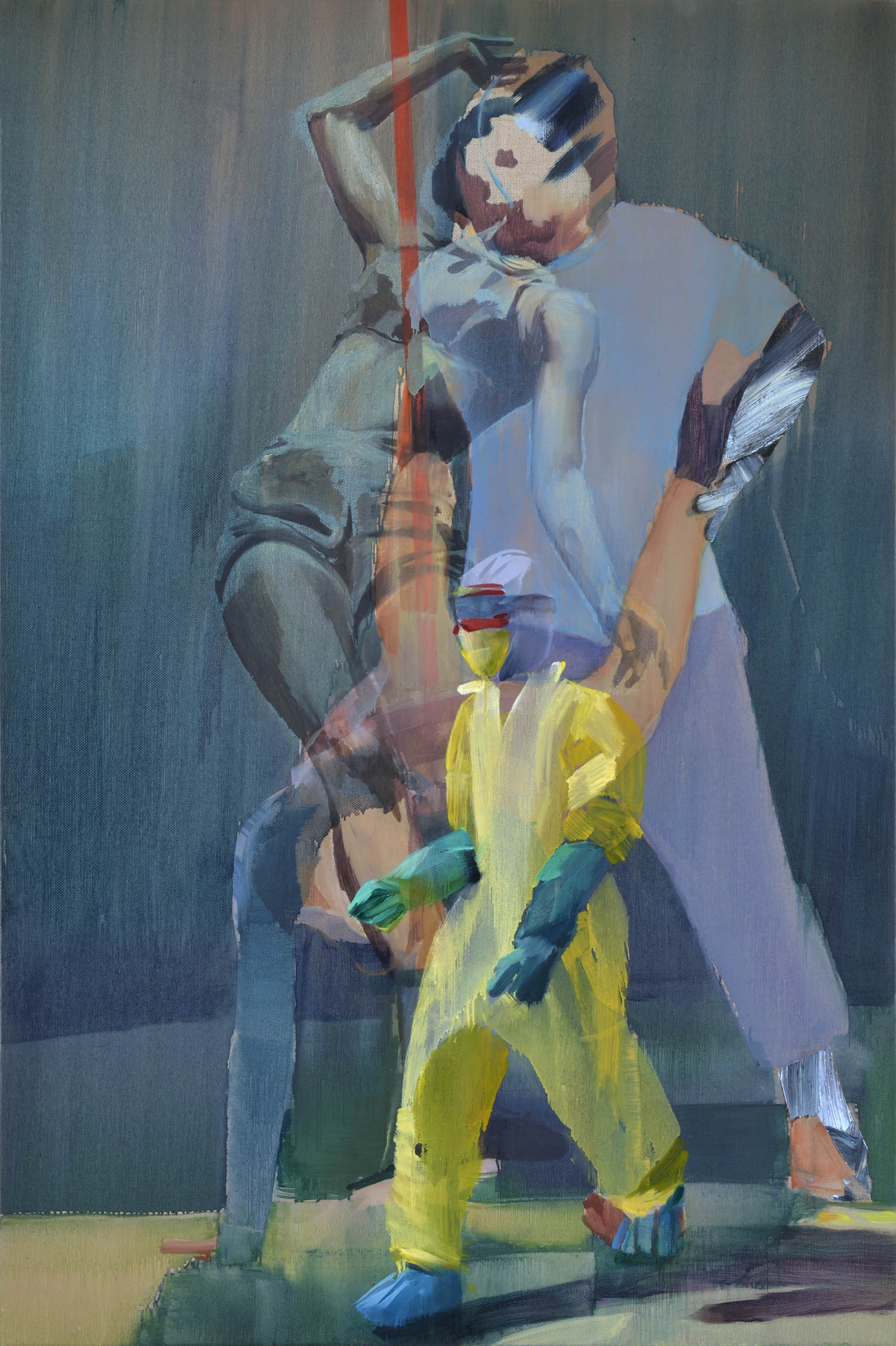 Untitled,  2015, oil on canvas, 144 x 96cm. Private collection, UK