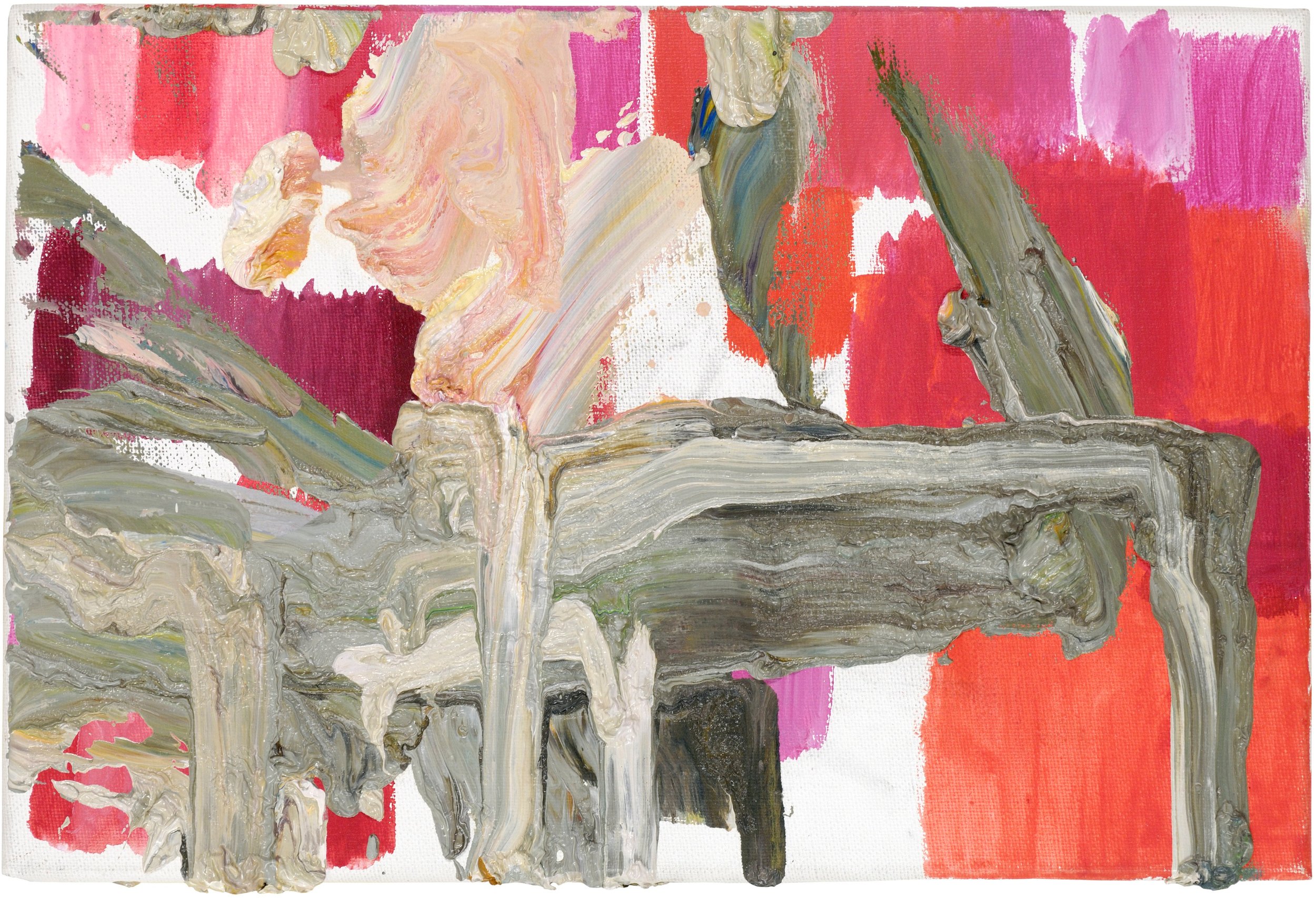 Untitled , 2005, oil on canvas, 20 x 35cm. Private collection, France