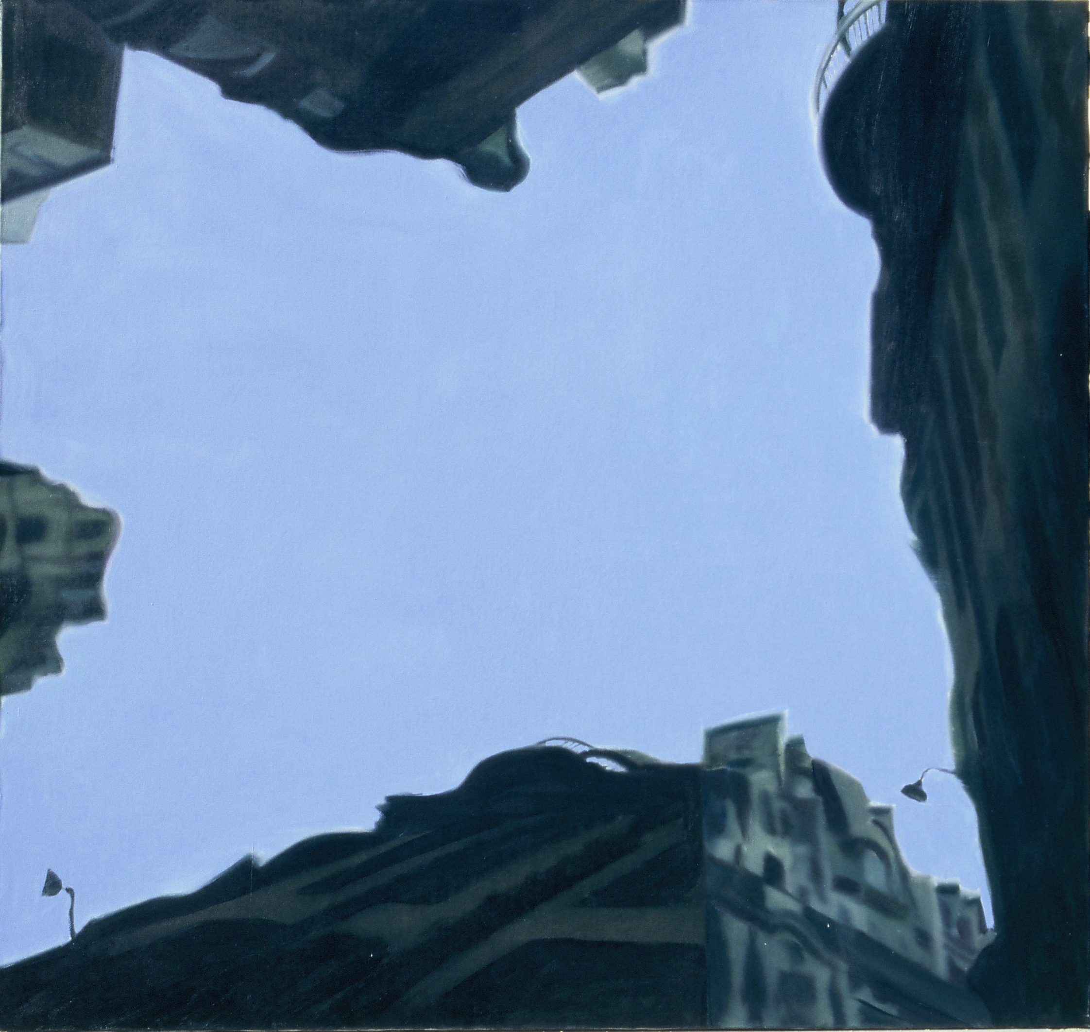 Syntax 4 , 2002, oil on canvas, 140 x 150cm. Private collection, France