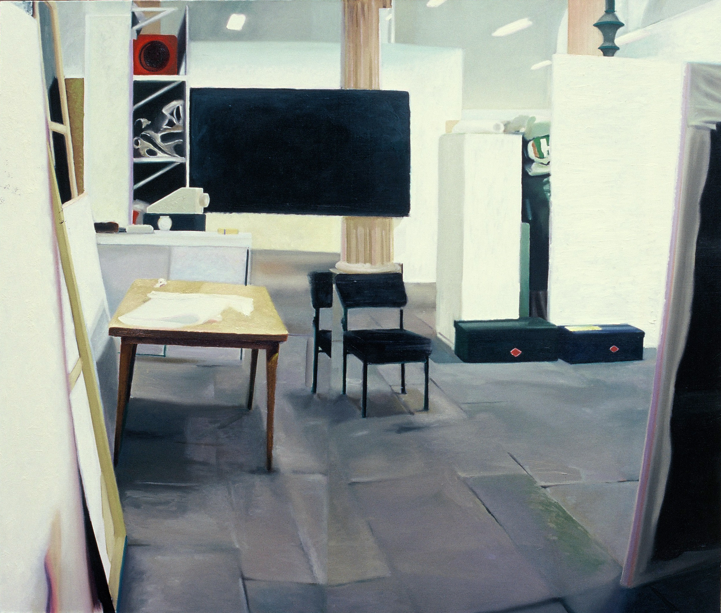 Tableau Noir , 1999, oil on canvas, 153 x 183cm. Private collection, USA