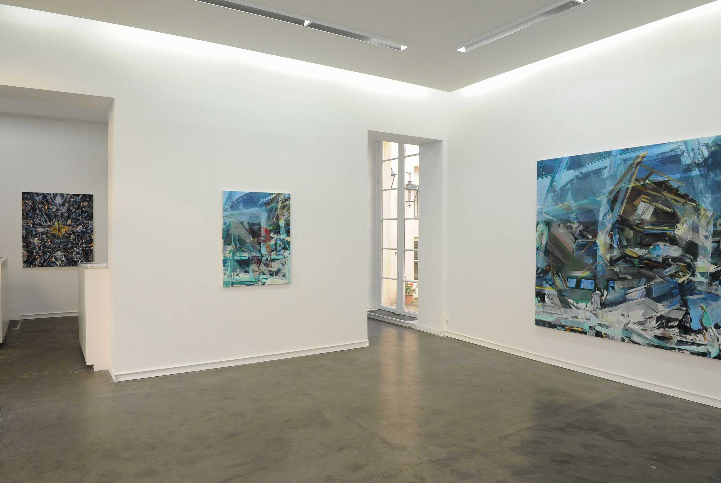 From Chaos , Mitterrand Gallery, Paris 2012