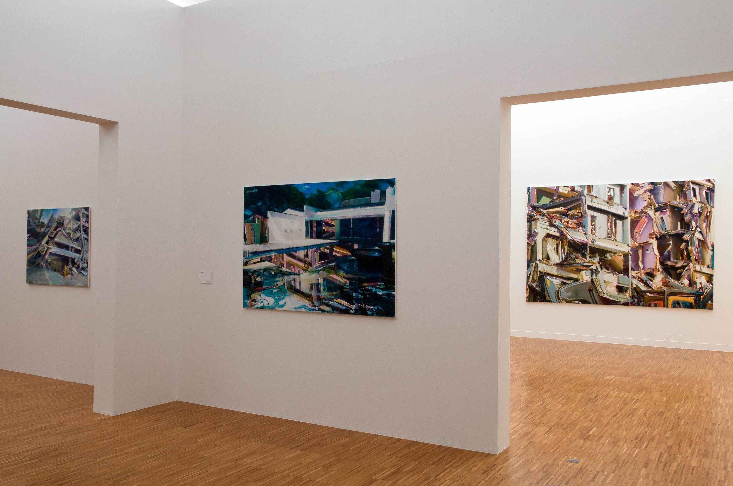 Duncan Wylie - Open House  , Musée de Grenoble, 2009.Curator Guy Tosatto.