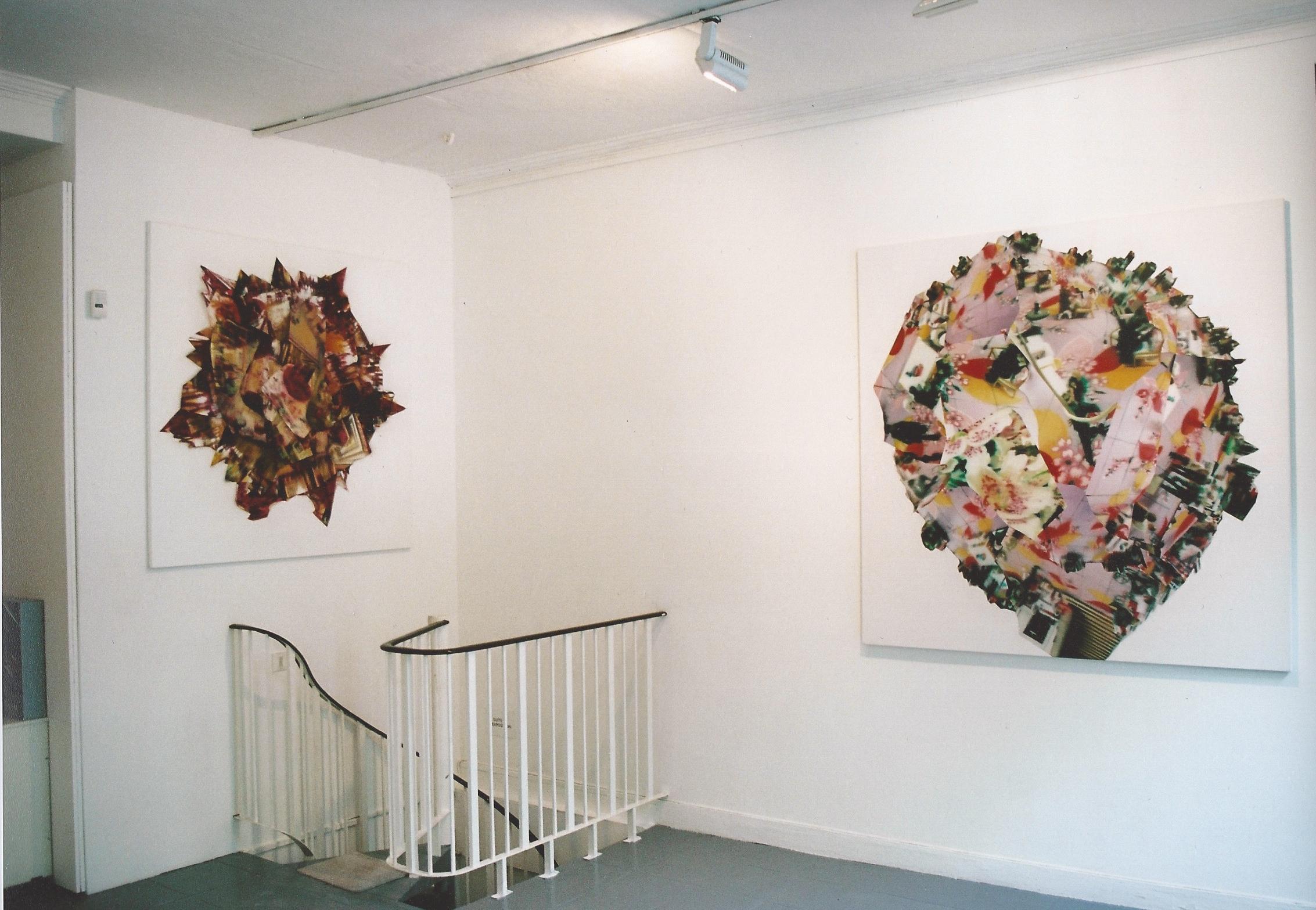 Recent Paintings , Yvonamor Palix Gallery, Paris 2003