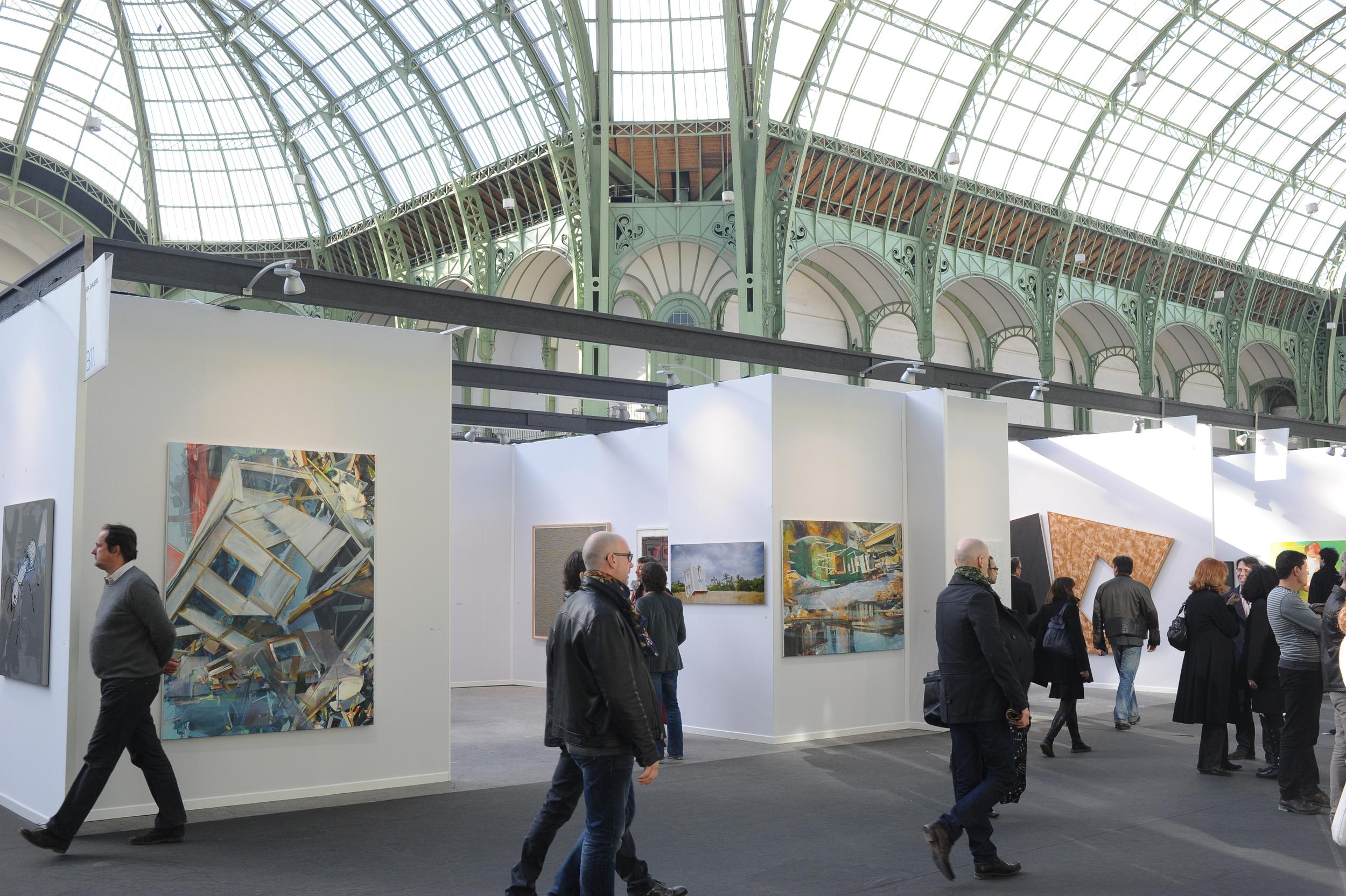 ArtParis, Grand Palais, Mitterrand Gallery, 2012