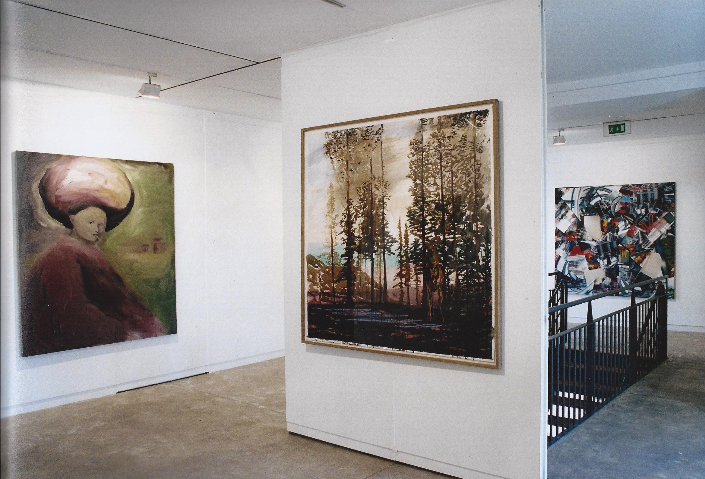 Etats de Peinture , Maison des Arts de Malakoff (FR)2003. Curator Philippe Piguet.Artists in view : Gregory Forstner, Olivier Masmonteil, Duncan Wylie