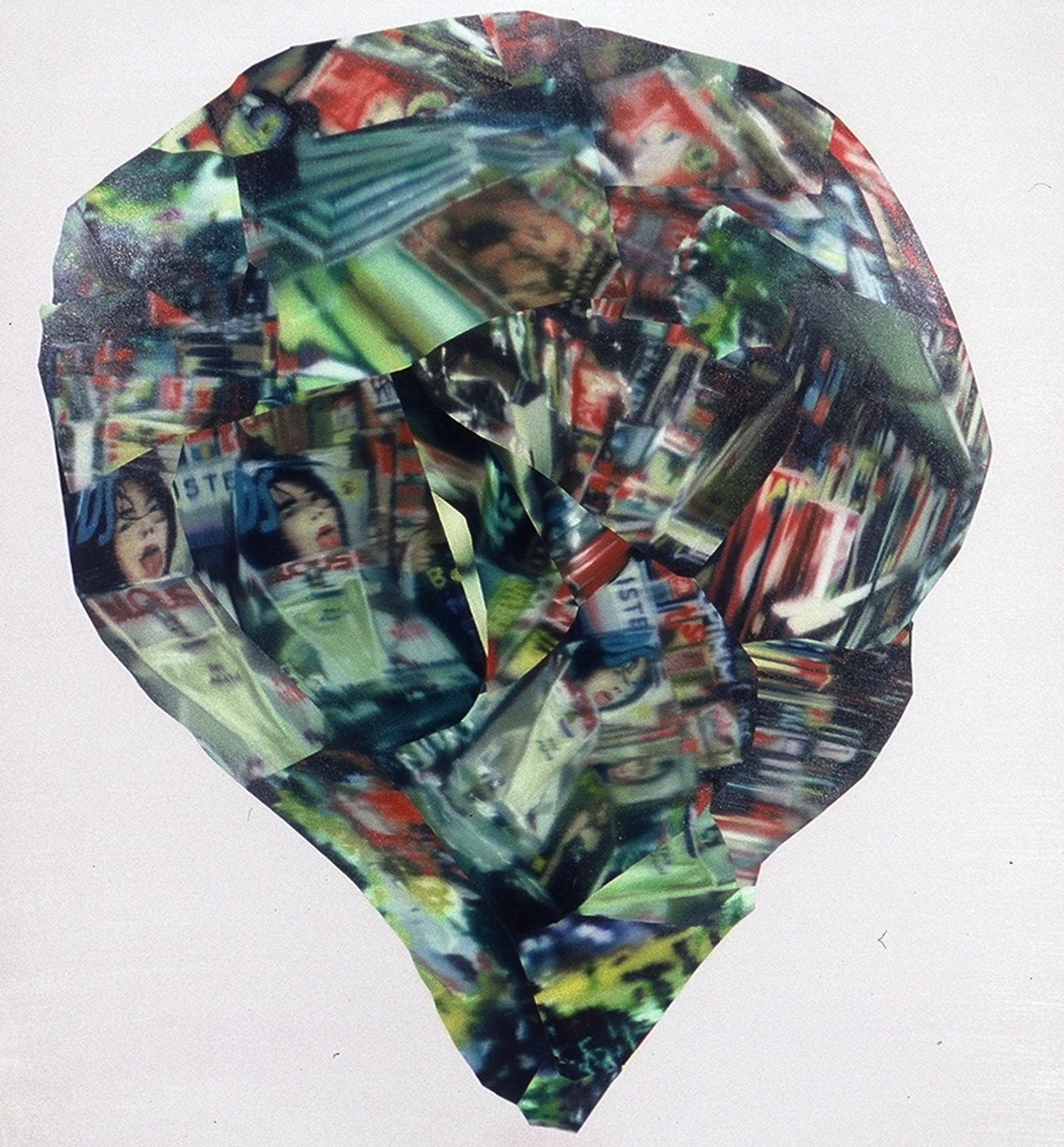 Rosewell , 2003, oil on canvas, 162 x 140cm. Collection Ville de Saint Ouen, France
