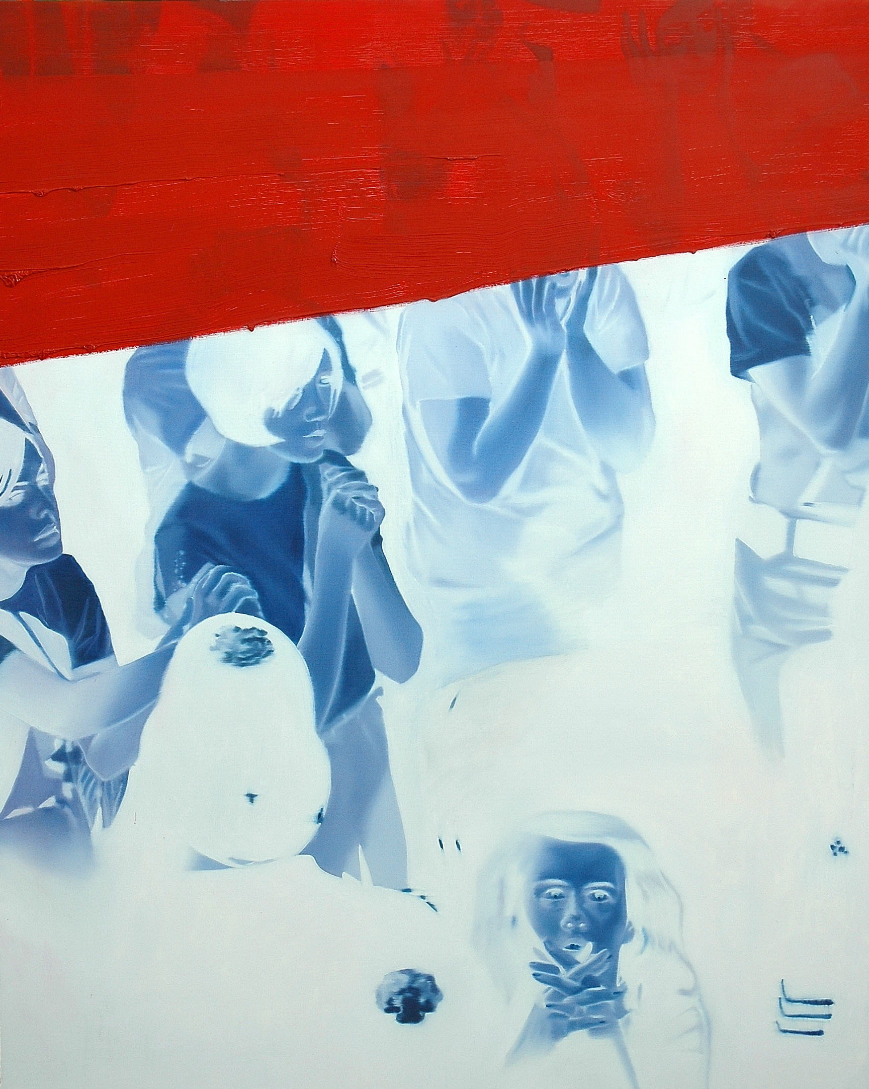Untitled , 2002, oil on canvas, 162 x 130cm. Private collection, France